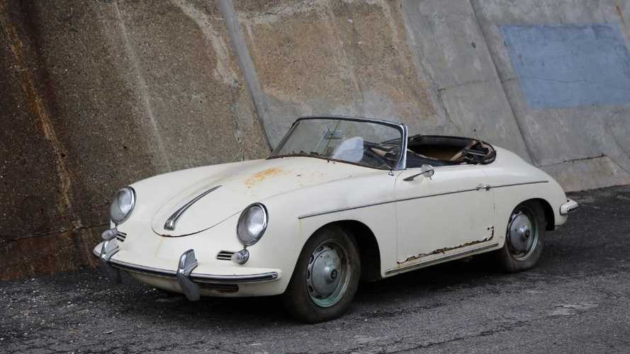 Classics for sale: Barn find Porsche 356B