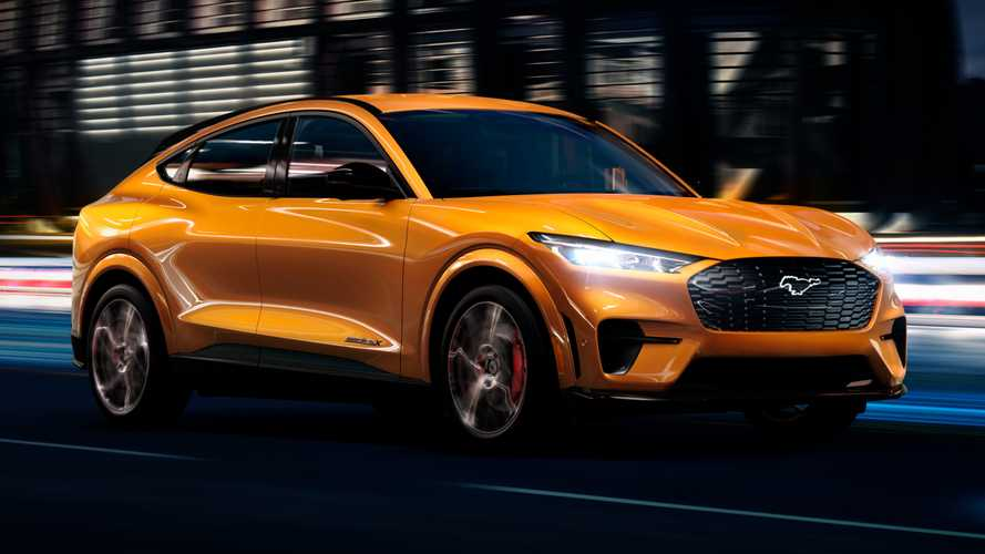 2021 Ford Mustang Mach-E Gets Splash Of Color With Cyber Orange