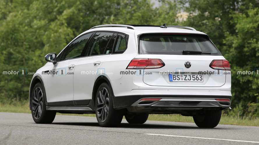 Volkswagen Golf Alltrack y Variant 2020, fotos espía
