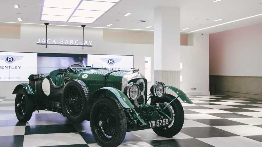 Brooklands-winning Bentley returns 'home' after 50 years