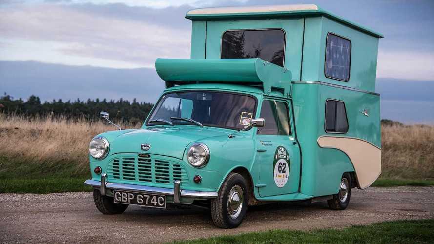 Wildgoose, e la Mini divenne caravan