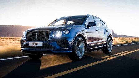 Updated 2021 Bentley Bentayga Speed still packs a 626-bhp W12 wallop