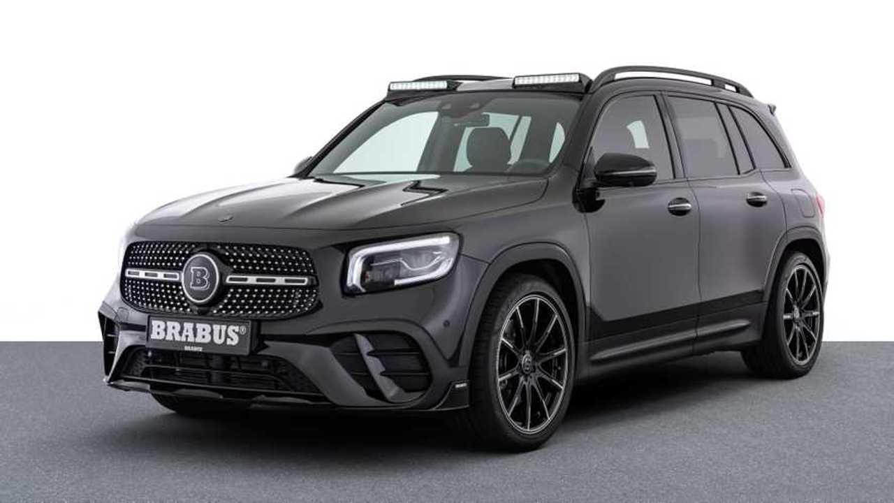 Brabus Mercedes GLB (2020): Die klassische Ansicht von schräg vorne
