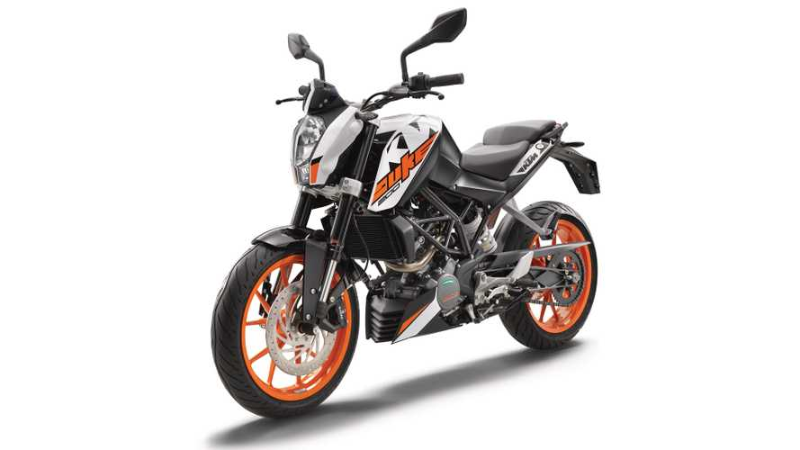 Report: KTM 200 Duke Is Coming To The U.S.