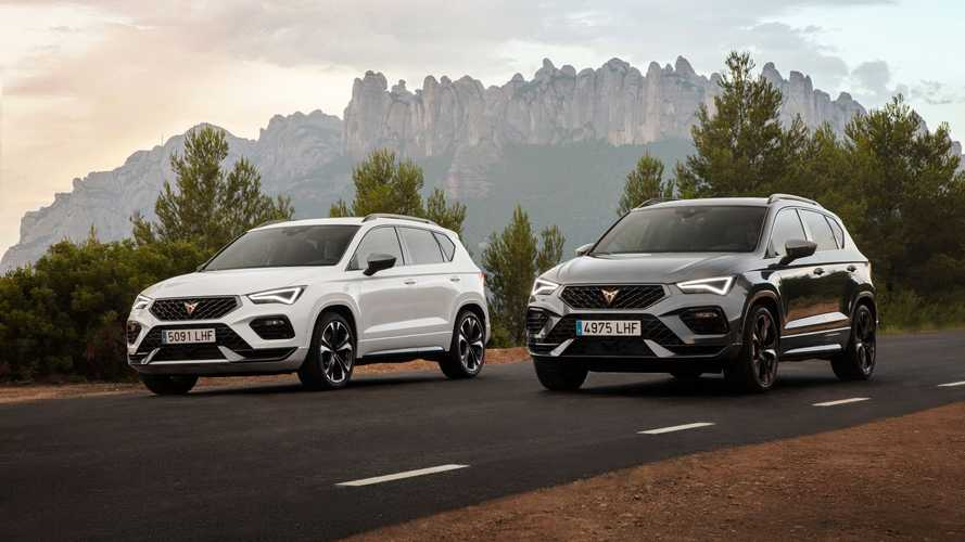 Cupra Ateca model year 2020