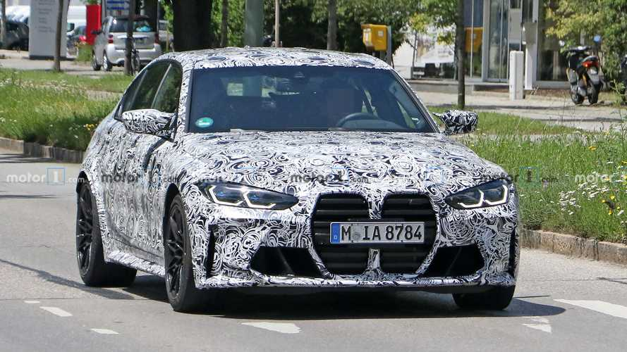 2021 BMW M3 caught up close in best spy shots to date
