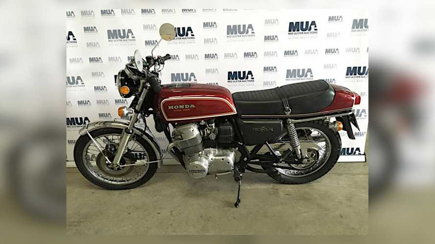 George Miller Motorcycle Auction