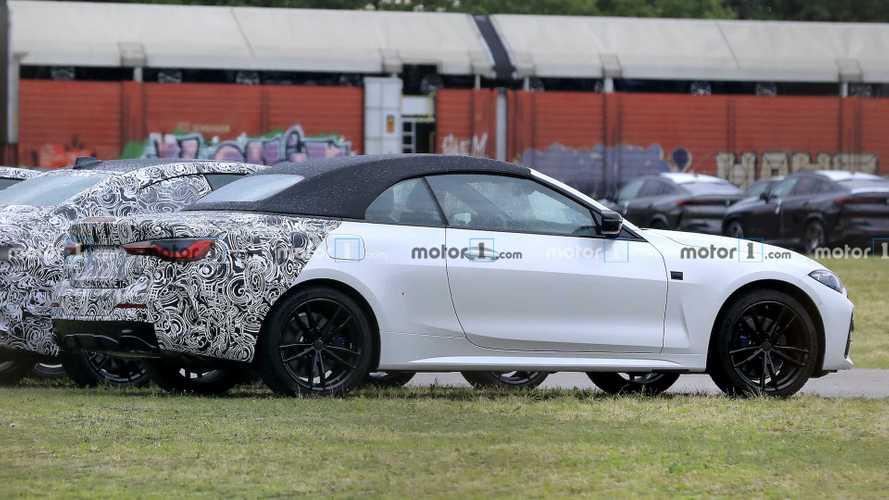 Кабриолет BMW 4-й серии почти перестал прятаться под камуфляжем