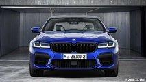 Неофициальные рендеры обновленного BMW M5