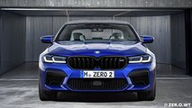 Makyajlı 2020 BMW M5 render