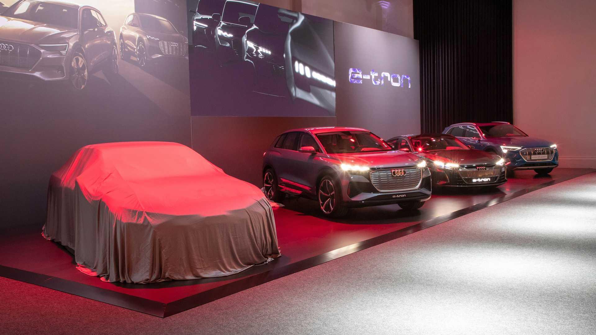 Audi сделает принципиально новый электрокар к 2024 году