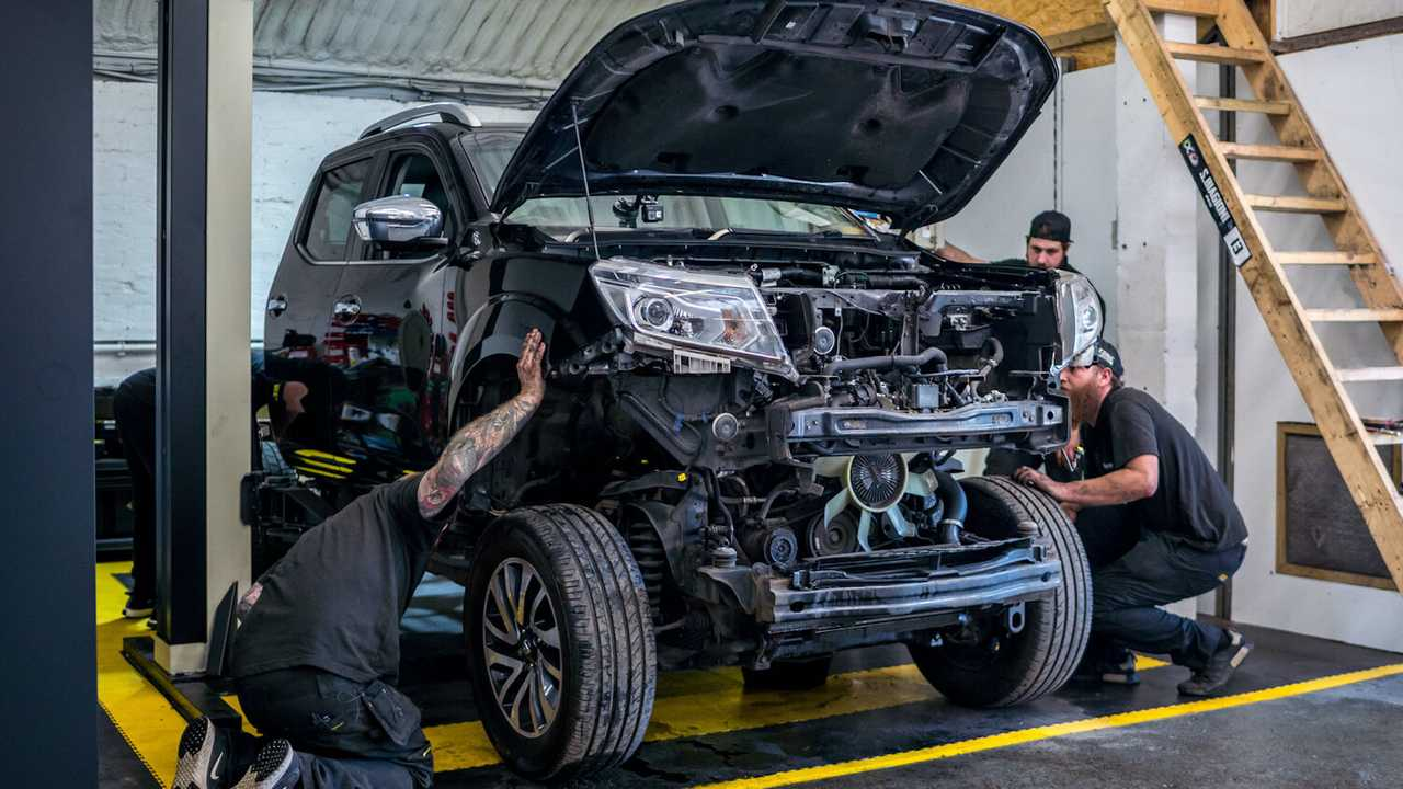 Проект тысячесильного Nissan Navara-R
