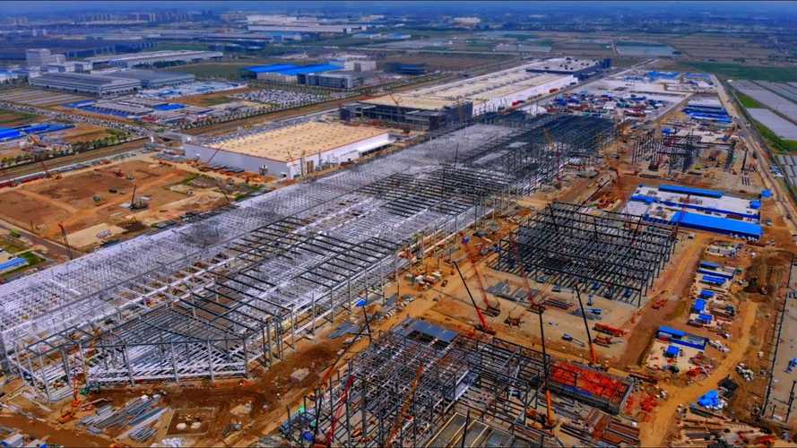 Tesla Teases Battery Module And Pack Production Line At Giga Shanghai
