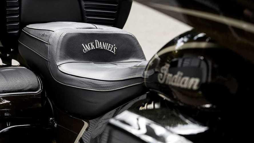 Jack Daniel's Indian Roadmaster Dark Horse Limited Edition