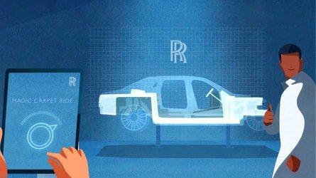 Rolls-Royce Ghost teaser video reveals 'simple' suspension setup