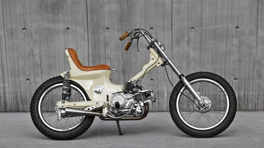 2Loud Custom Makes The Honda Super Cub Cool With Chopper Build