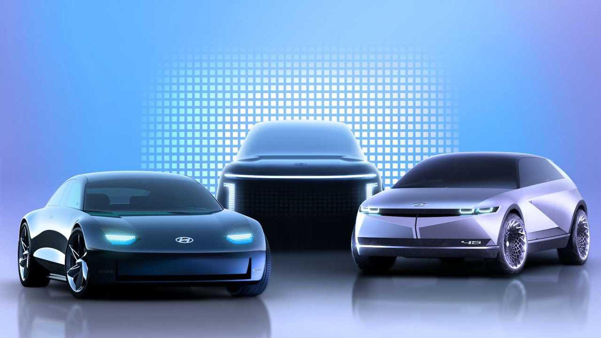 Hyundai выпустит три электромобиля под маркой Ioniq