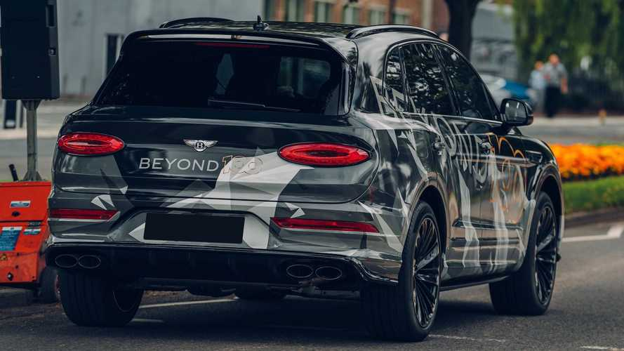 Bentley Bentayga Speed (2020), тизеры