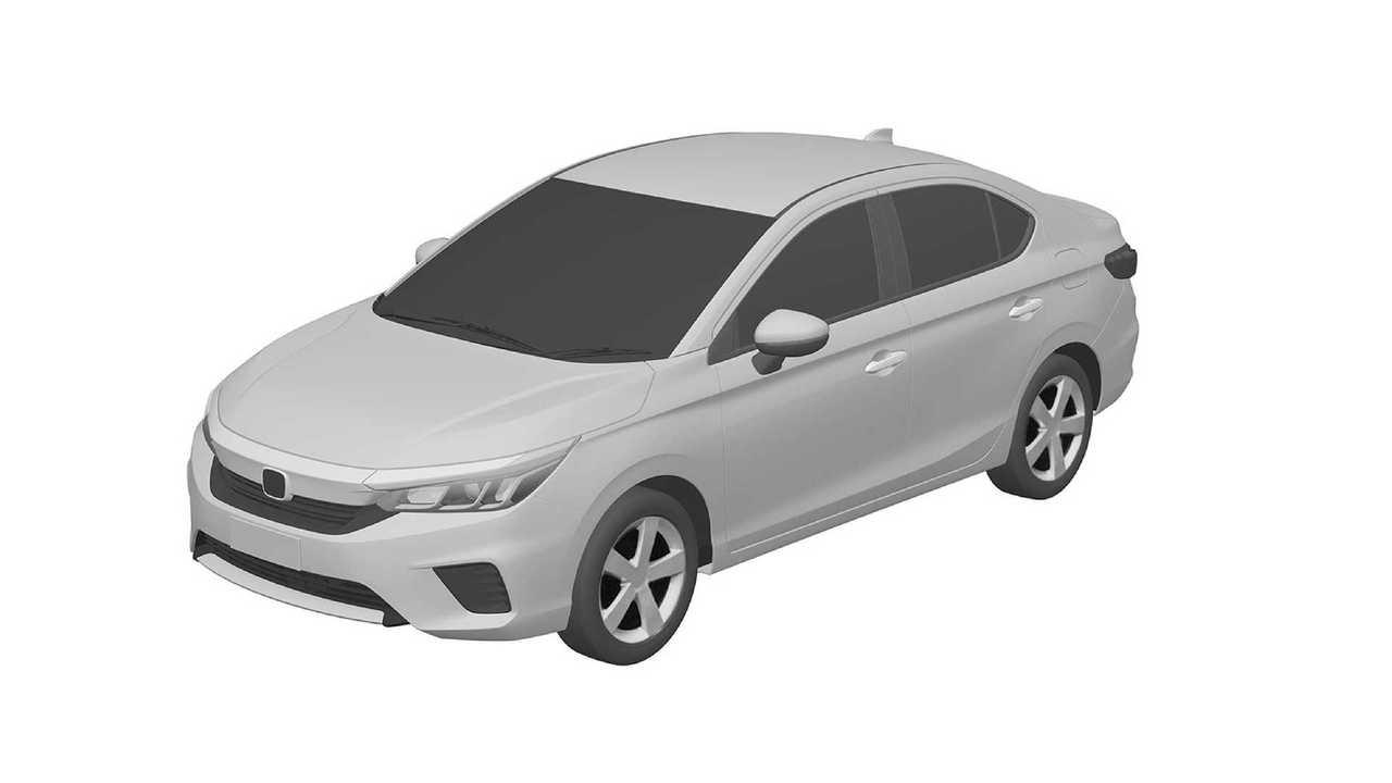 Honda City - патентные изображения