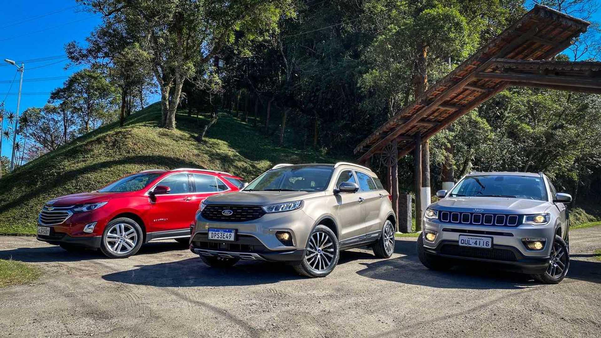 Comparativo: Ford Territory tem batismo de fogo contra Compass e Equinox