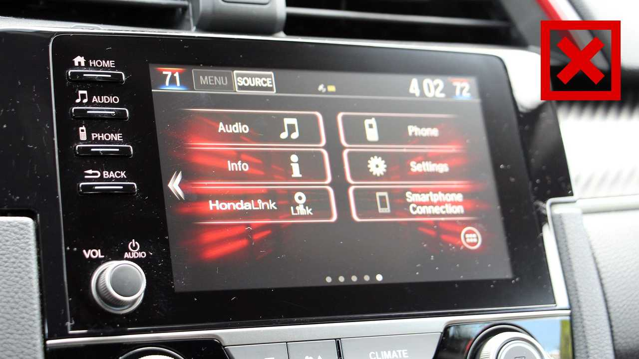 Outdated Infotainment