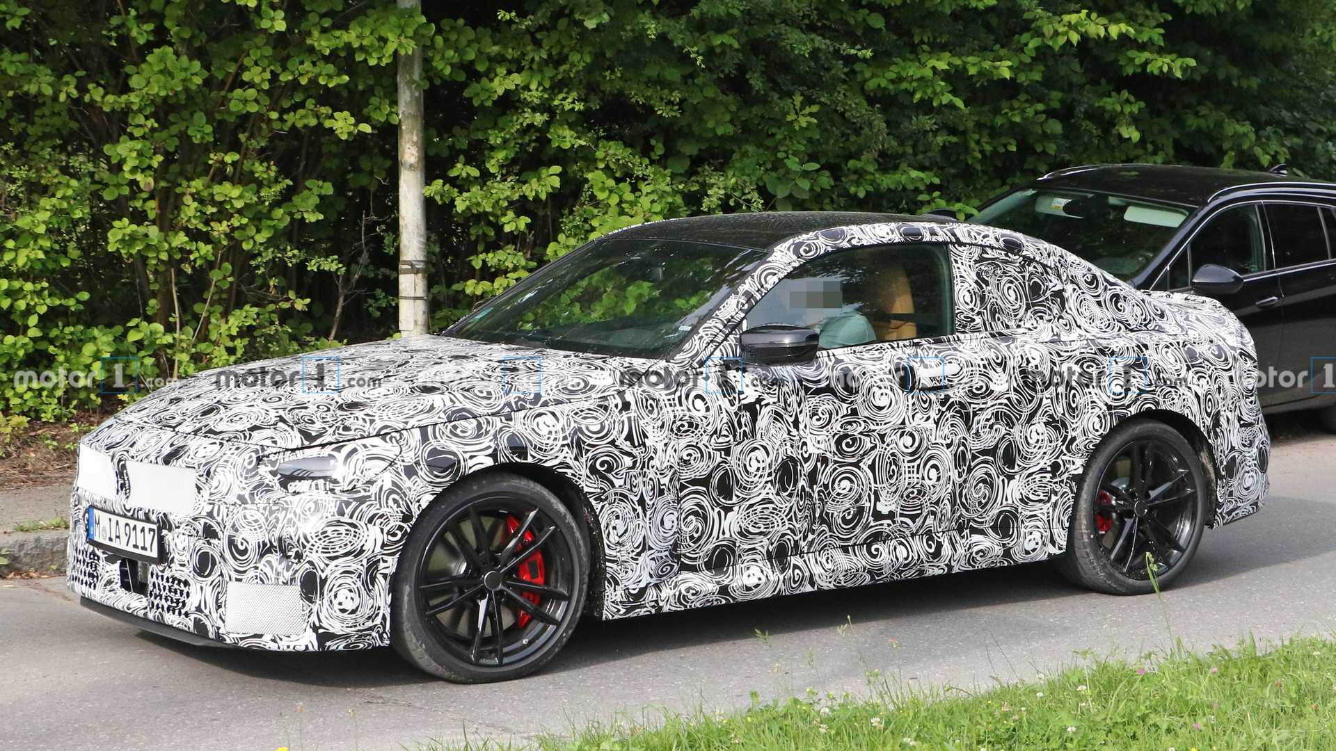 2022 - [BMW] Série 2 / M2 Coupé [G42] - Page 4 2022-bmw-2-series-coupe-spy-pic