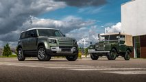 new landrover defender first drive