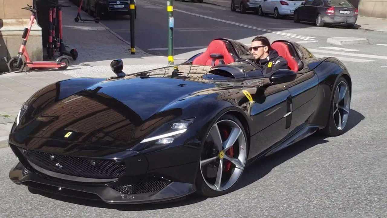 Zlatan Ibrahimovic Ferrari SP2 Monza