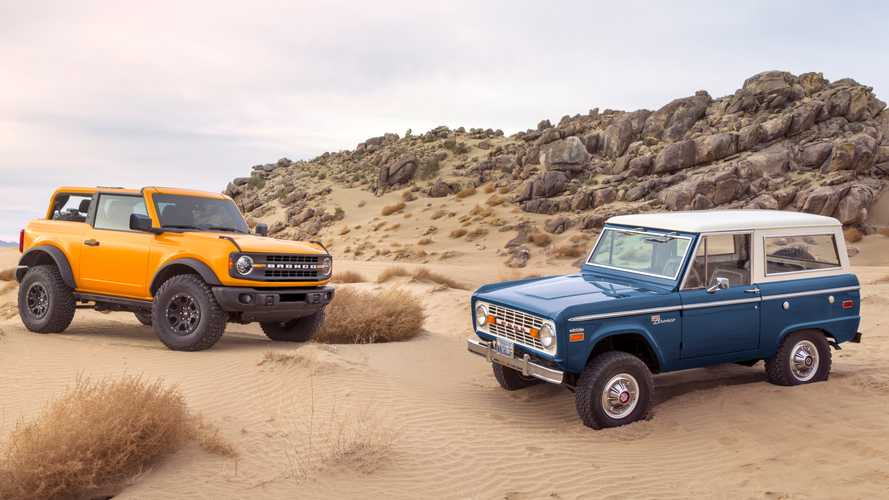 2021 Ford Bronco pictures: See the new SUV inside and out