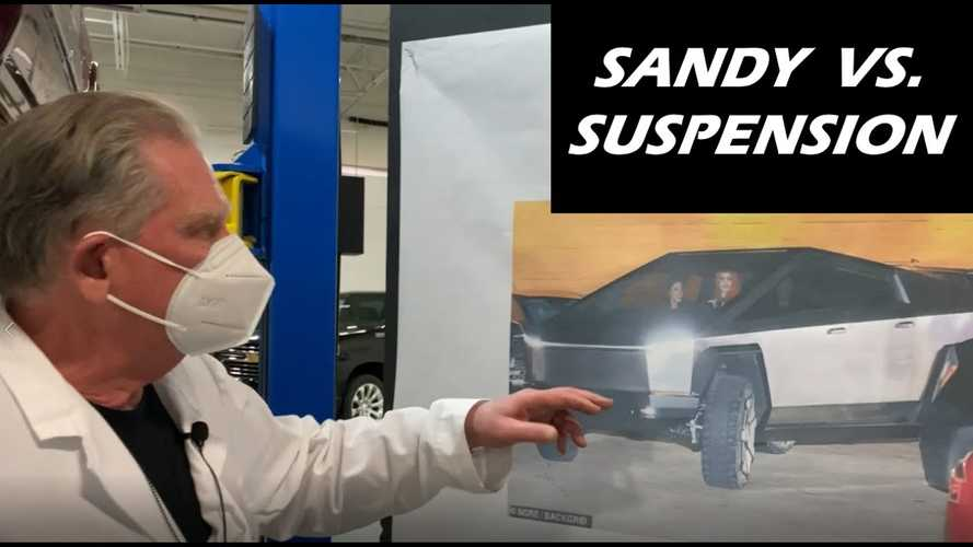 Sandy Munro Talks Tesla Cybertruck Suspension, Ride, Handling, Structure