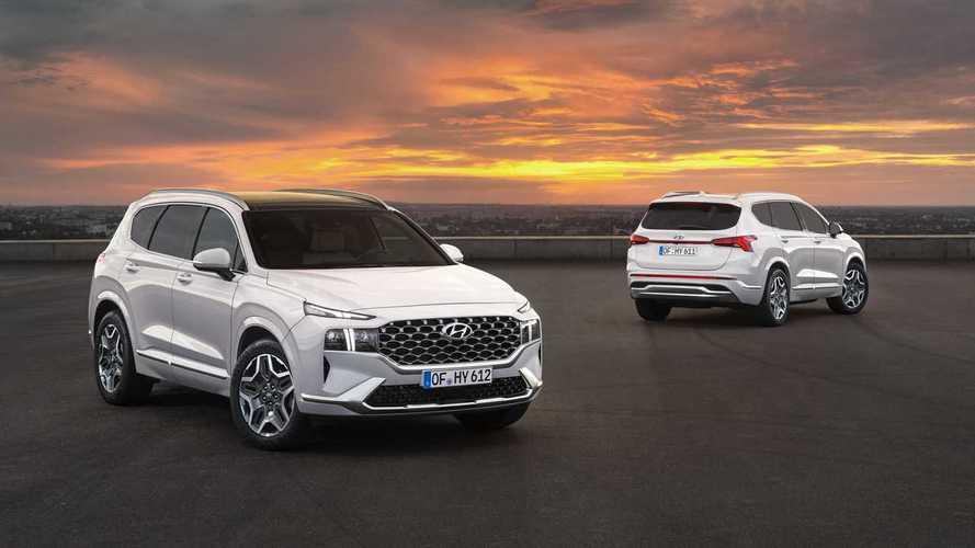 Hyundai Santa Fe 2020: restyling con nueva plataforma