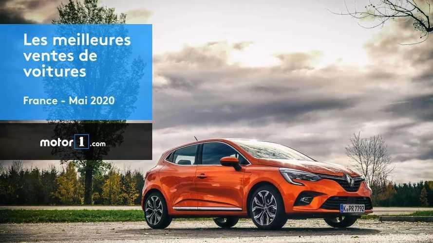 VIDÉO - Les voitures les plus vendues en France en mai 2020
