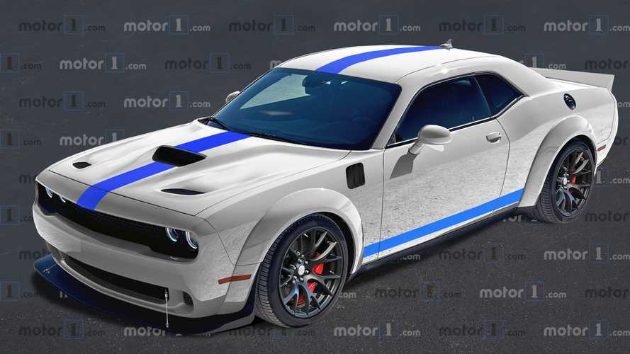 Dodge Challenger ACR 2021, recreación