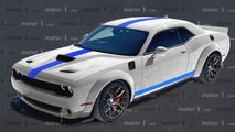 2021 Dodge Challenger ACR Rendering