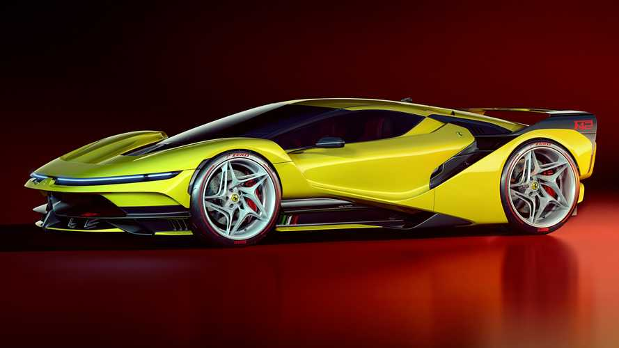 Ferrari F42 Concept is a modern take on the iconic F40