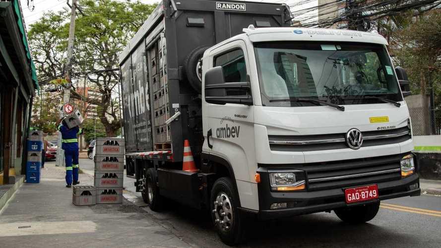 Volkswagen confirma a venda de 100 caminhões elétricos e-Delivery à Ambev