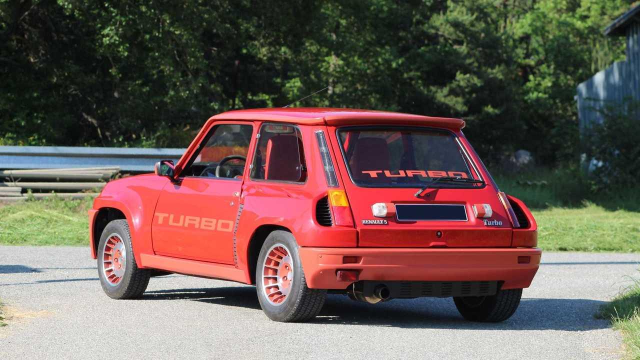 Renault 5 Turbo 1980, subasta de Artcurial