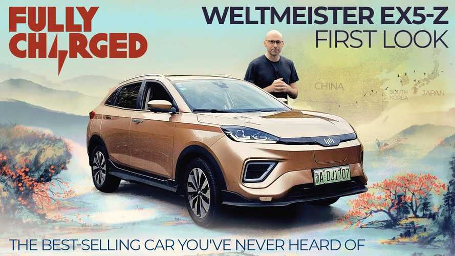 Weltmeister EX5-Z Sounds German, But It's Apparently China's Best-Selling EV