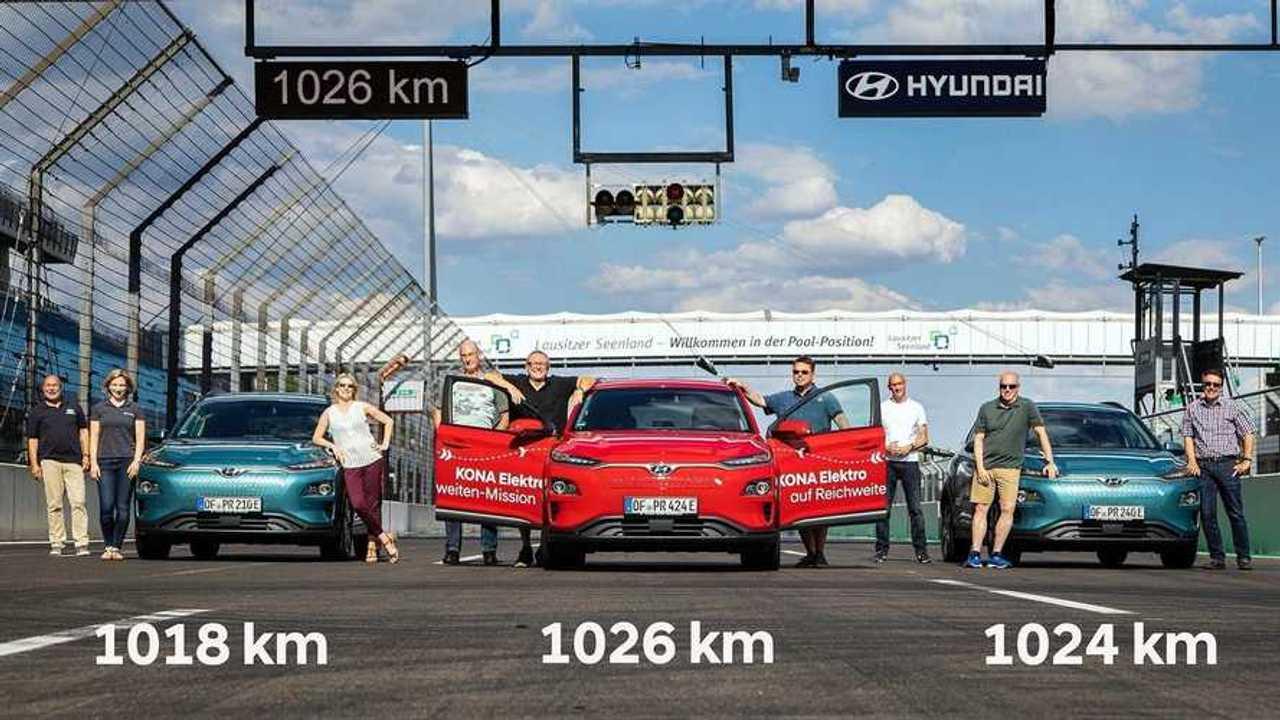 Record Hyundai Kona