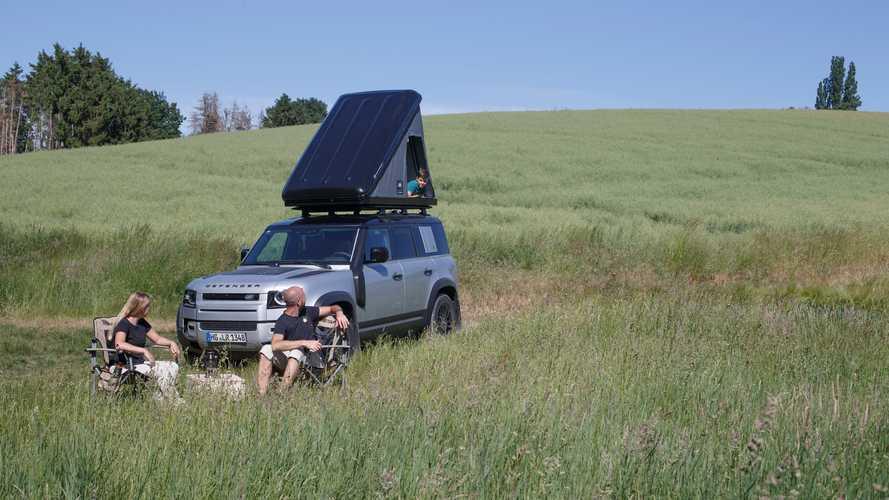 Land Rover Defender con tienda Autohome