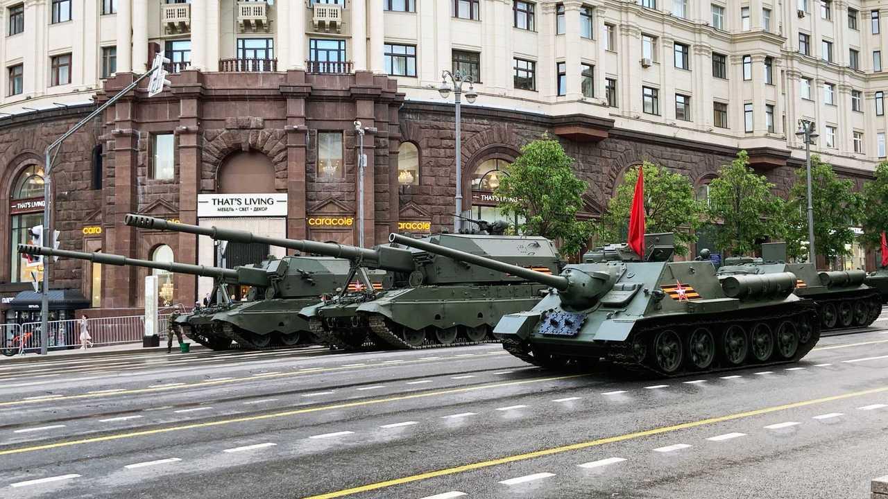 СУ-100 и «Коалиция-СВ»