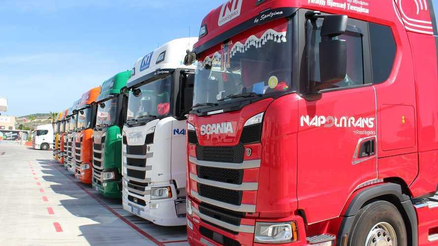 Scania, 60 nuovi camion per la ripartenza di Napolitrans