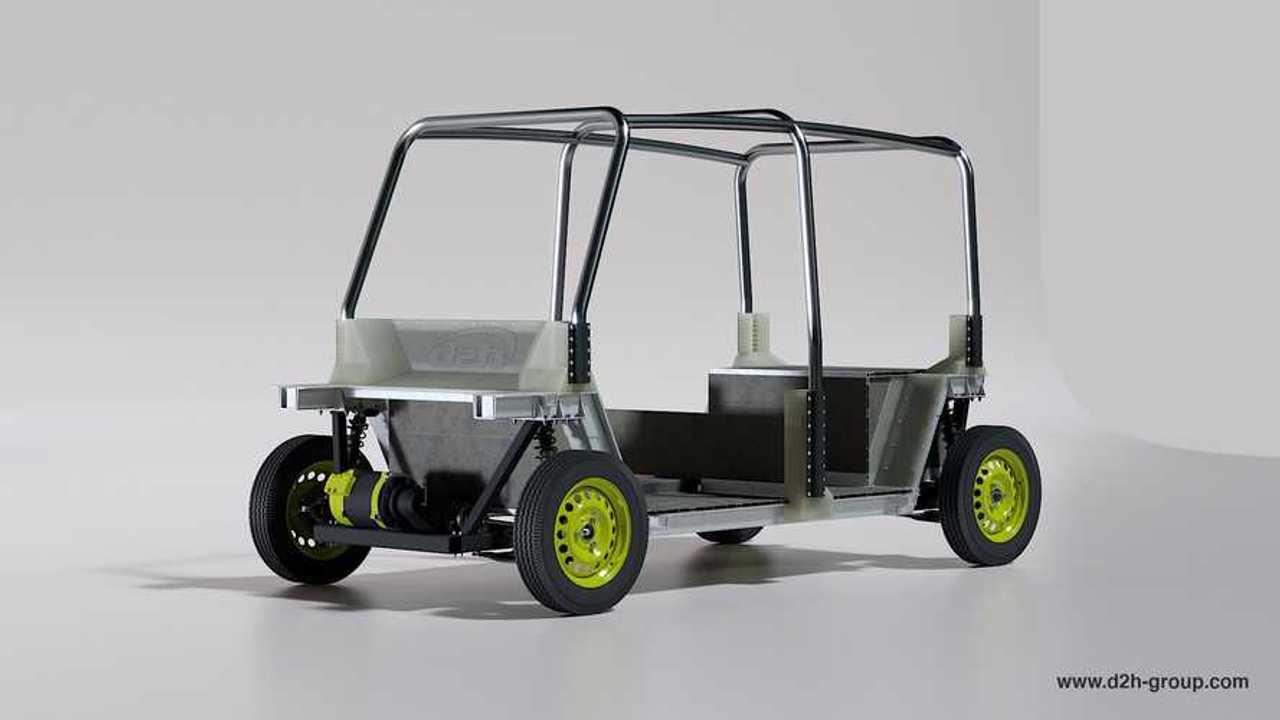 D2H electric Tuk-Tuk concept