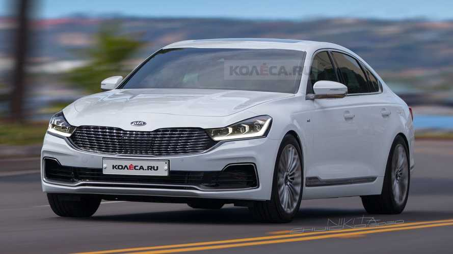 Kia K900 Looks All Grown Up Rendered As Facelifted Model