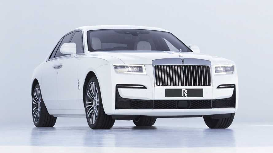 2021 Rolls-Royce Ghost Revealed: Understated New Design And V12 Power