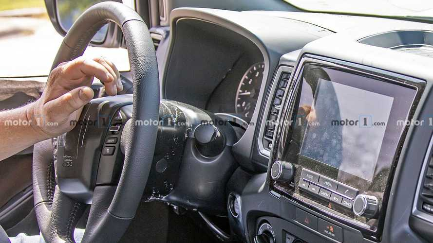 Next-Gen Nissan Frontier Spied With Fully Revealed Interior