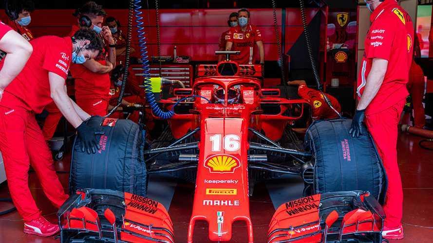 """F1, Leclerc: """"Mi mancava guidare una Formula 1 sul serio"""""""