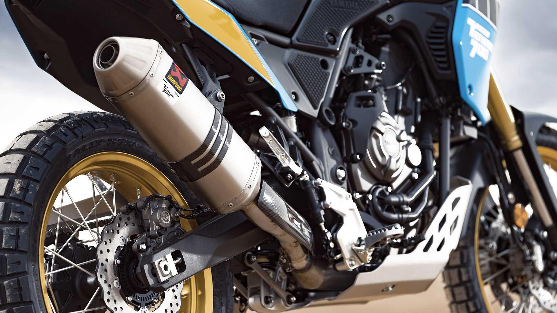 New 2020 Yamaha Ténéré 700 Rally Edition Celebrates Dakar Heritage
