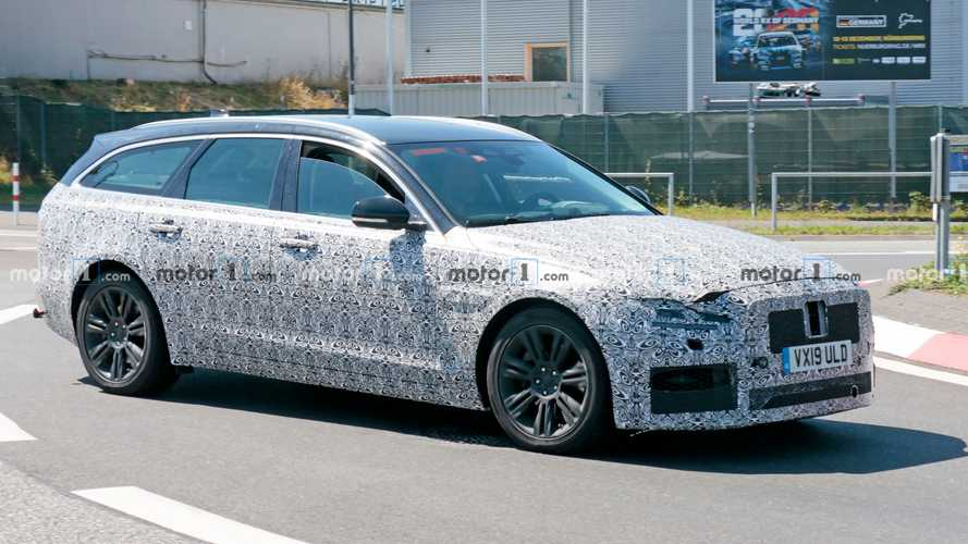 Facelifted Jaguar XF Sportbrake Spied Looking Sporty At The 'Ring
