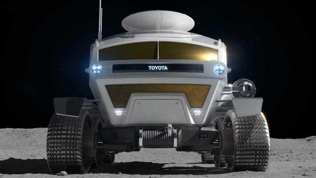 Toyota представила концепт электрического лунохода